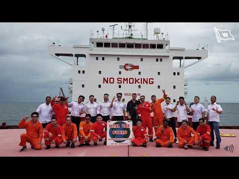 1 May 2020 - Sounding of horns from Wilhelmsen Ship Management's managed fleet