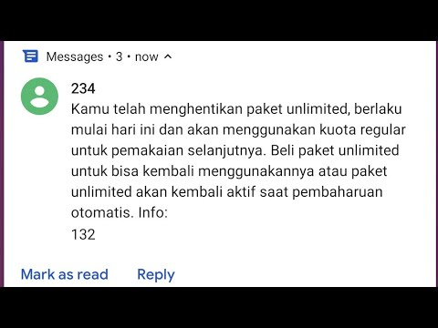 Cara Berhenti Paket 3 Tri Aon 6gb Unlimited Jam 00 00 17 00 Youtube
