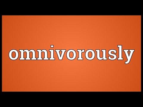 Header of omnivorously