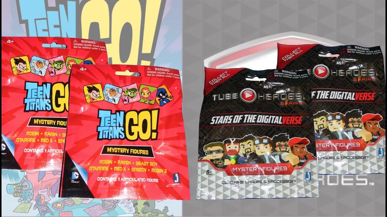 Tube Heroes  Teen Titans Go Blind Bags - Youtube-9298