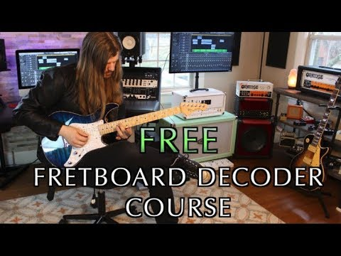 My Free Fretboard Decoder Course Is Here!