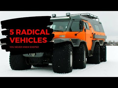 5 Radical Vehicles You Never Knew Existed