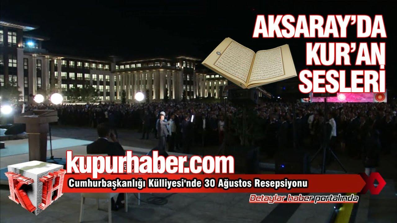 AkSaray'da Kur'an-ı Kerim okundu