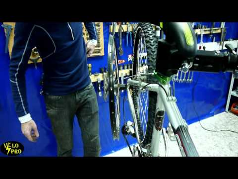 Как самостоятельно поправить петух на велосипеде