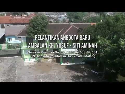 Pelantikan Pramuka Penegak MA Hidayatul Mubtadiin Tasikmadu MALANG