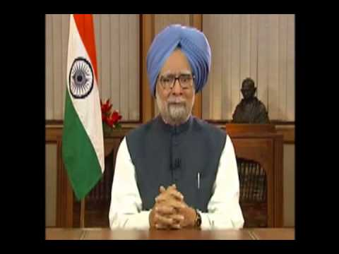 Prime Minister Manmohan Singh gives farewell speech