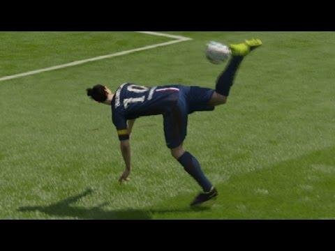 FIFA 15 Scorpion Kick Tutorial