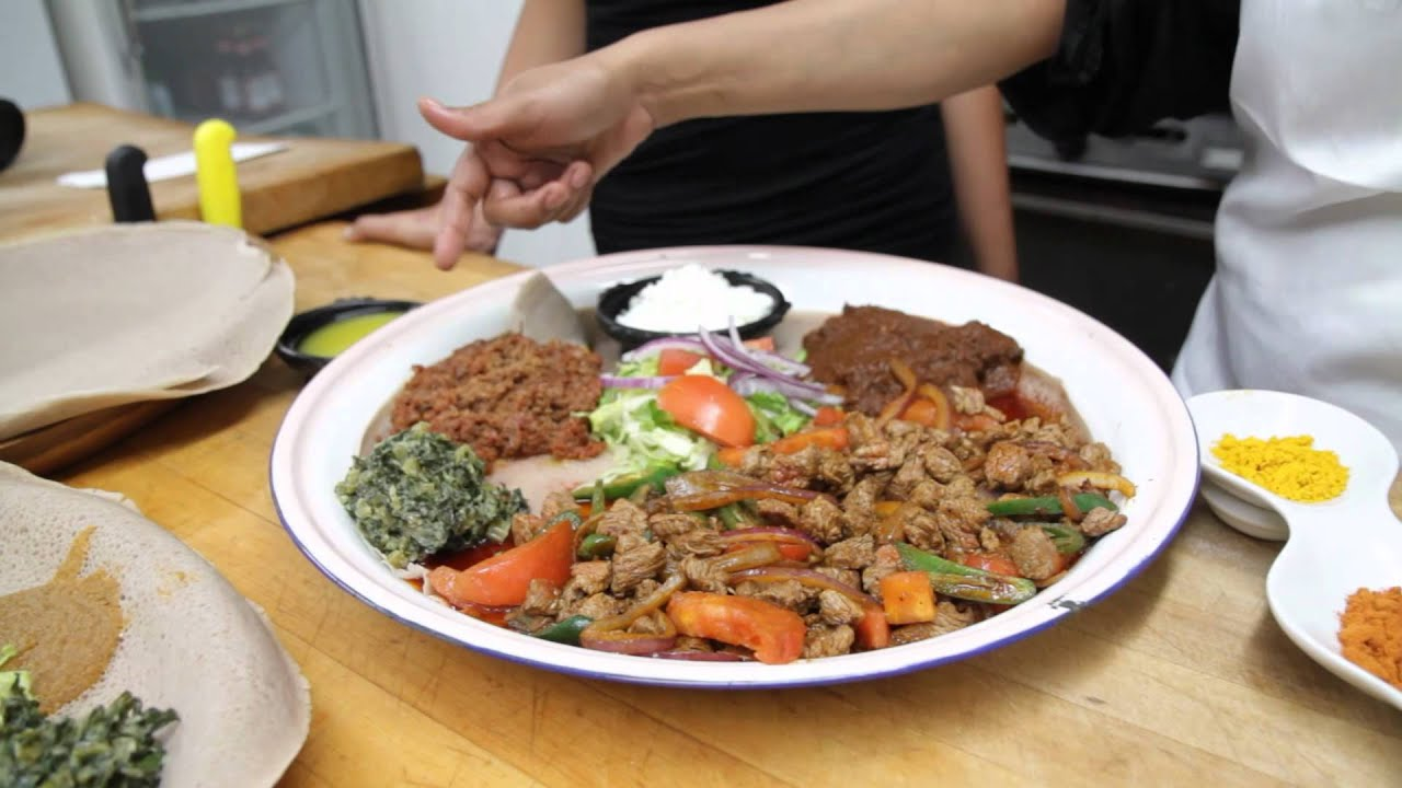 Ethiopian Food At Its Finest Youtube