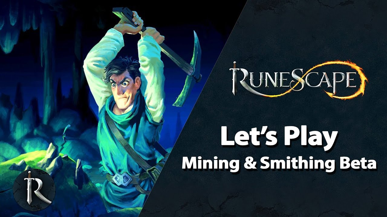 Let's Play RuneScape - Mining & Smithing Beta (Gameplay with JMods)