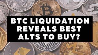 BTC Liquidation Reveals Most Bullish Alt Coins