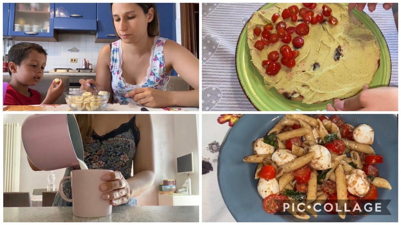 WHAT I EAT IN A DAY! COSA MANGIO IN UN GIORNO!
