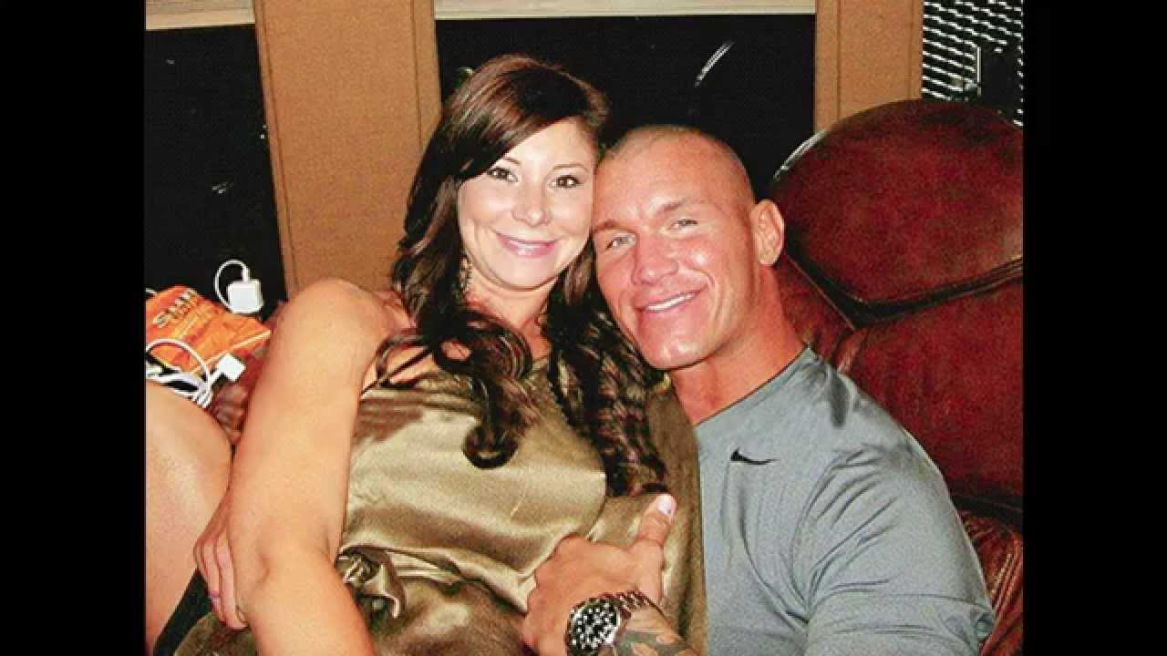 Randy Orton with former wife Samantha Speno