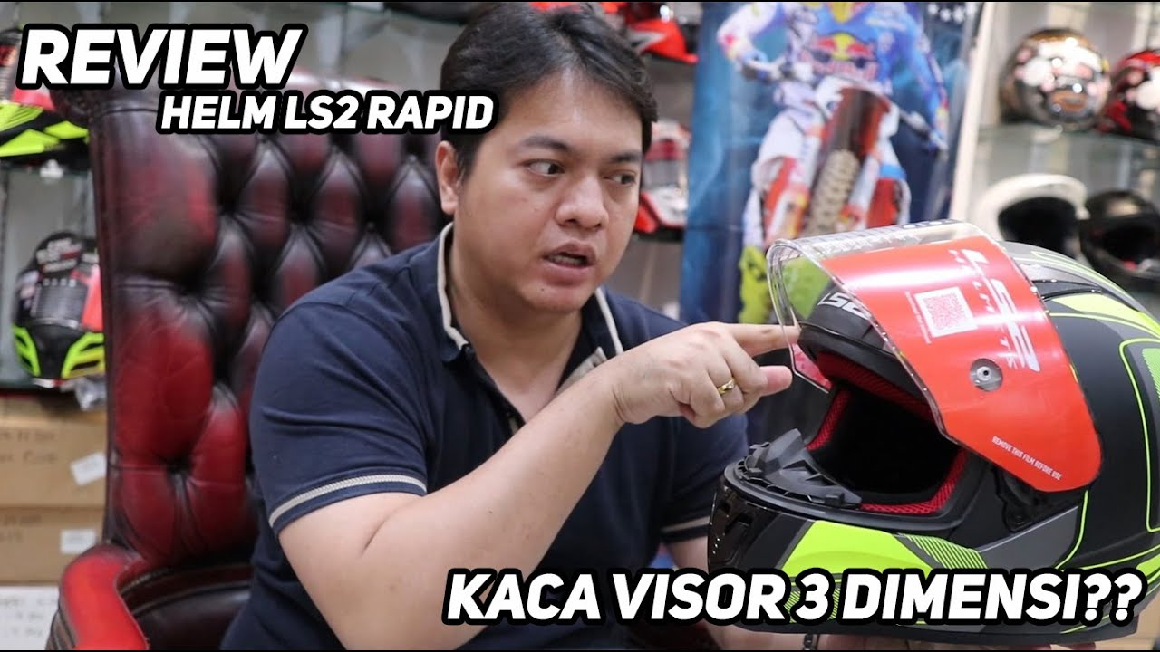 Review - Helm FIRST ENTRY Dari LS2!! Rapid FF353