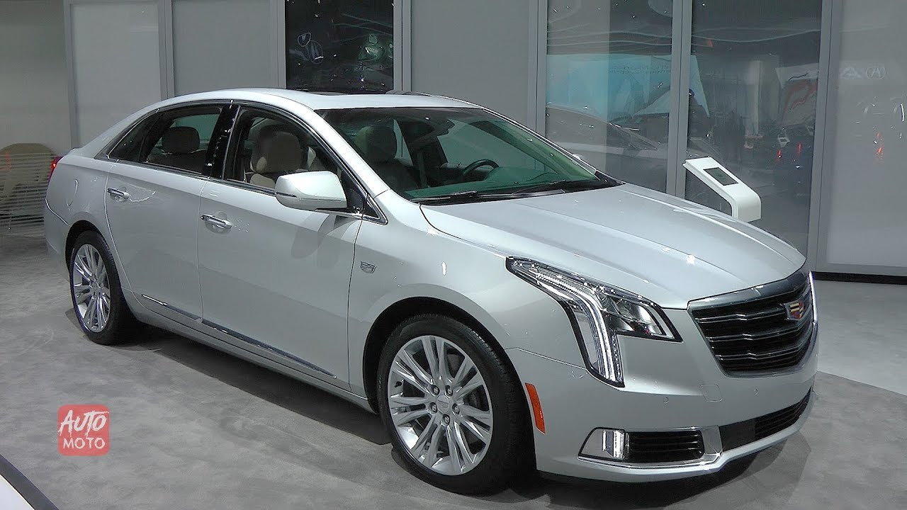 2019 Cadillac Xts Luxury 3 6 Exterior And Interior Walkaround 2018 La Auto Show