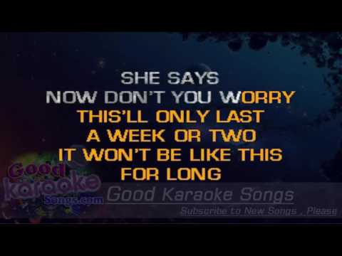 It Won't Be Like This For Long -  Darius Rucker (Lyrics Karaoke) [ goodkaraokesongs.com ]