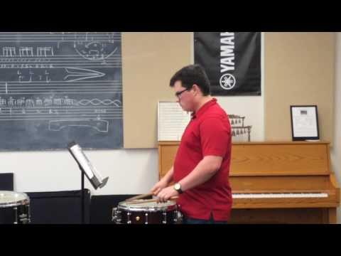 Doug Rowe Snare Drum EMF 2017