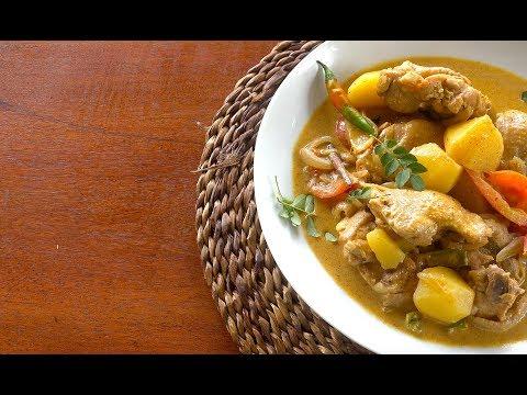 Chicken Potato Curry Sri Lankan Style - Day 5 - Sri Lanka Vlog - Sri Lankan Food - Chicken Curry