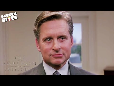 American President: wrong door (ft Michael Douglas and Annette Bening)