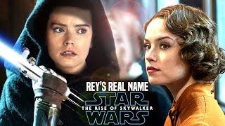 Rey's Real Name Revealed! The Rise Of Skywalker Leaks (Star Wars Episode 9)
