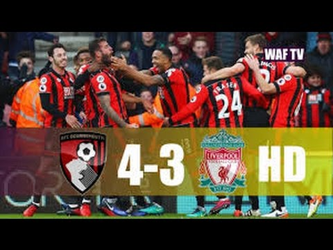 Download Bournemouth vs Liverpool 4-3 All goals and highlights 2016 INSANE