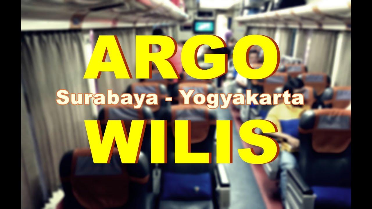 Trip Report From Surabaya To Yogyakarta By Argo Wilis Executive Train