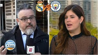REAL MADRID vs MAN CITY. Carolina APOSTÓ por Zidane sobre Guardiola en Champions League | ESPN AM