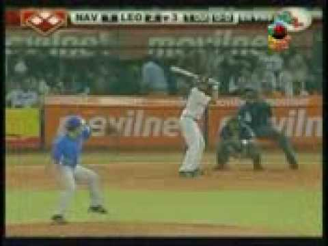 Expulsado Luis Sojo y Elvis Andrus Magallanes vs Leones 09-01-03 from YouTube · Duration:  2 minutes 48 seconds