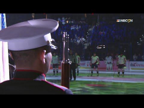 WSH@TBL, Gm7: Bryson sings the national anthem