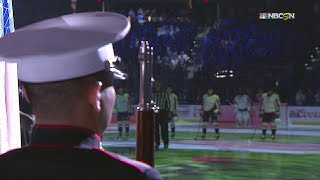 WSH@TBL, Gm7: Bryson sings the national anthem