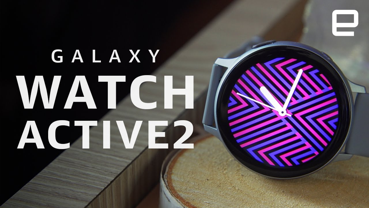 Samsung Galaxy Watch Active2 Hands On Samsung S Balancing Act Youtube