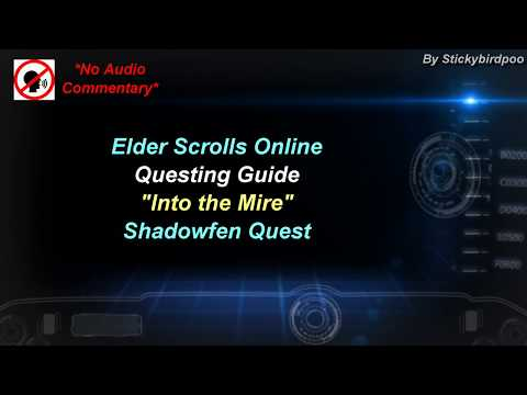 Into the Mire - Shadowfen Quest - Elder Scrolls Online |