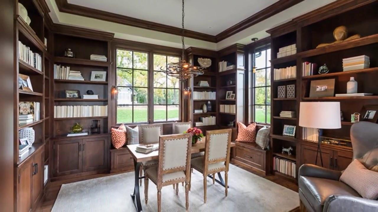 Modern Home Library Interior Design Modern Home Library Design Youtube
