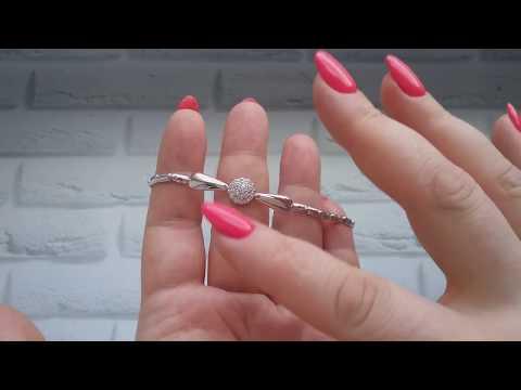СТИЛЬНЫЕ серебряные БРАСЛЕТЫ от Аквамарин!
