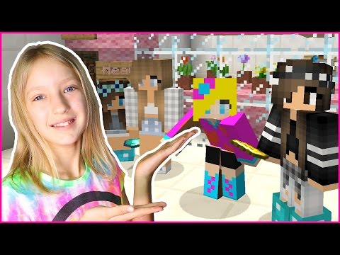 BUILDING A NEW FLOWER Shop In MINECRAFT