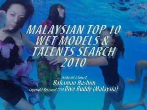 Malaysian Underwater Models & Talents Search 2010_Feats. Tasha Haron