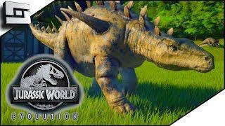 Jurassic World Evolution! Huayangosaurus! E4