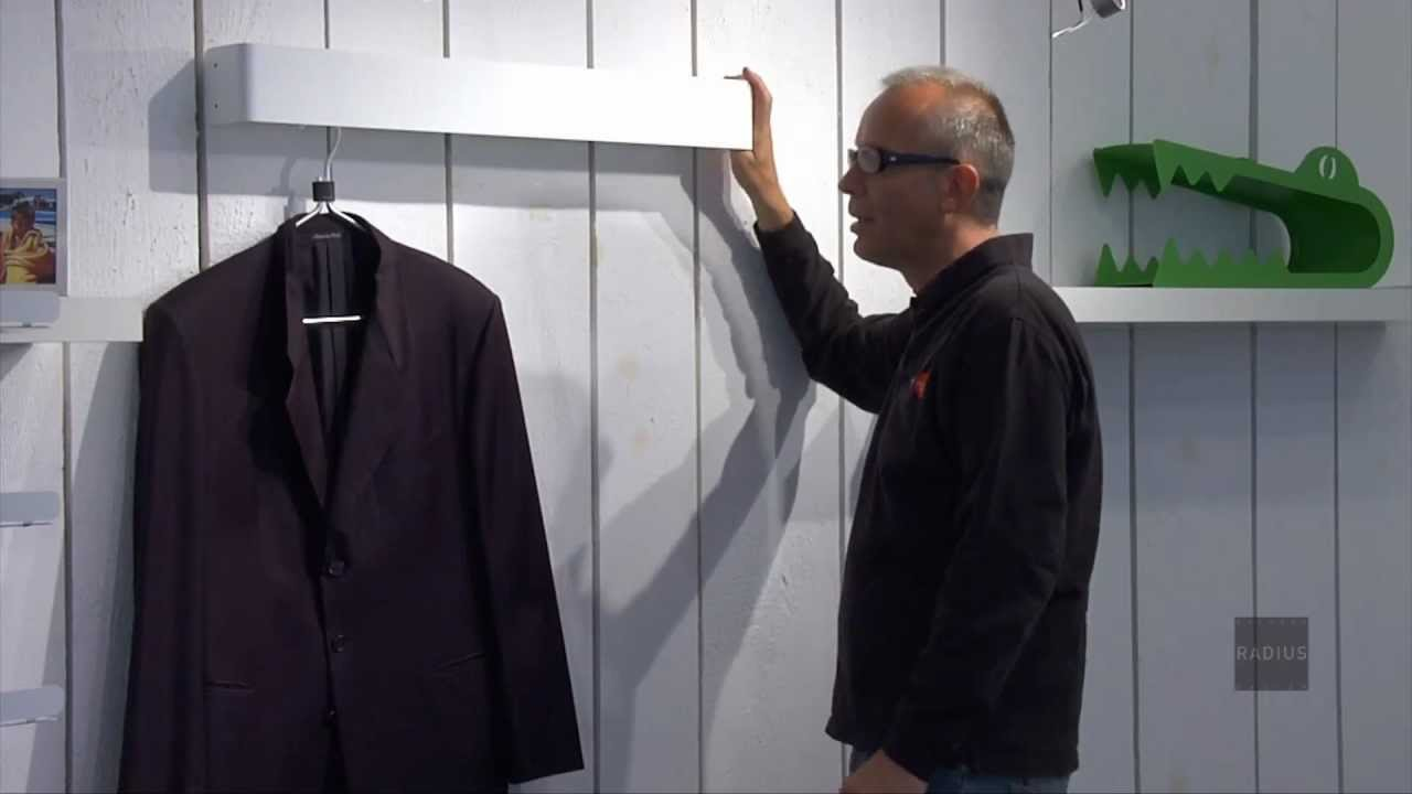 Garderobe radius 2 radius design youtube for Garderobe versteckt