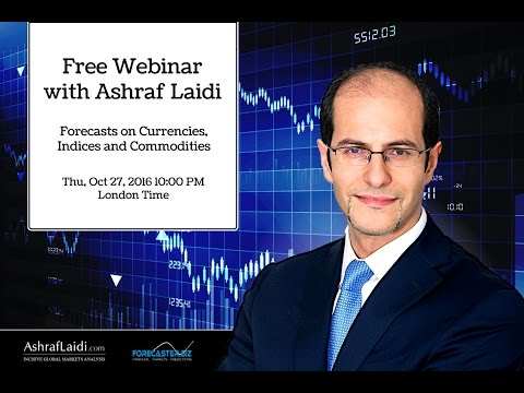 Forecasts on Currencies, Indices and Commodities with Ashraf Laidi