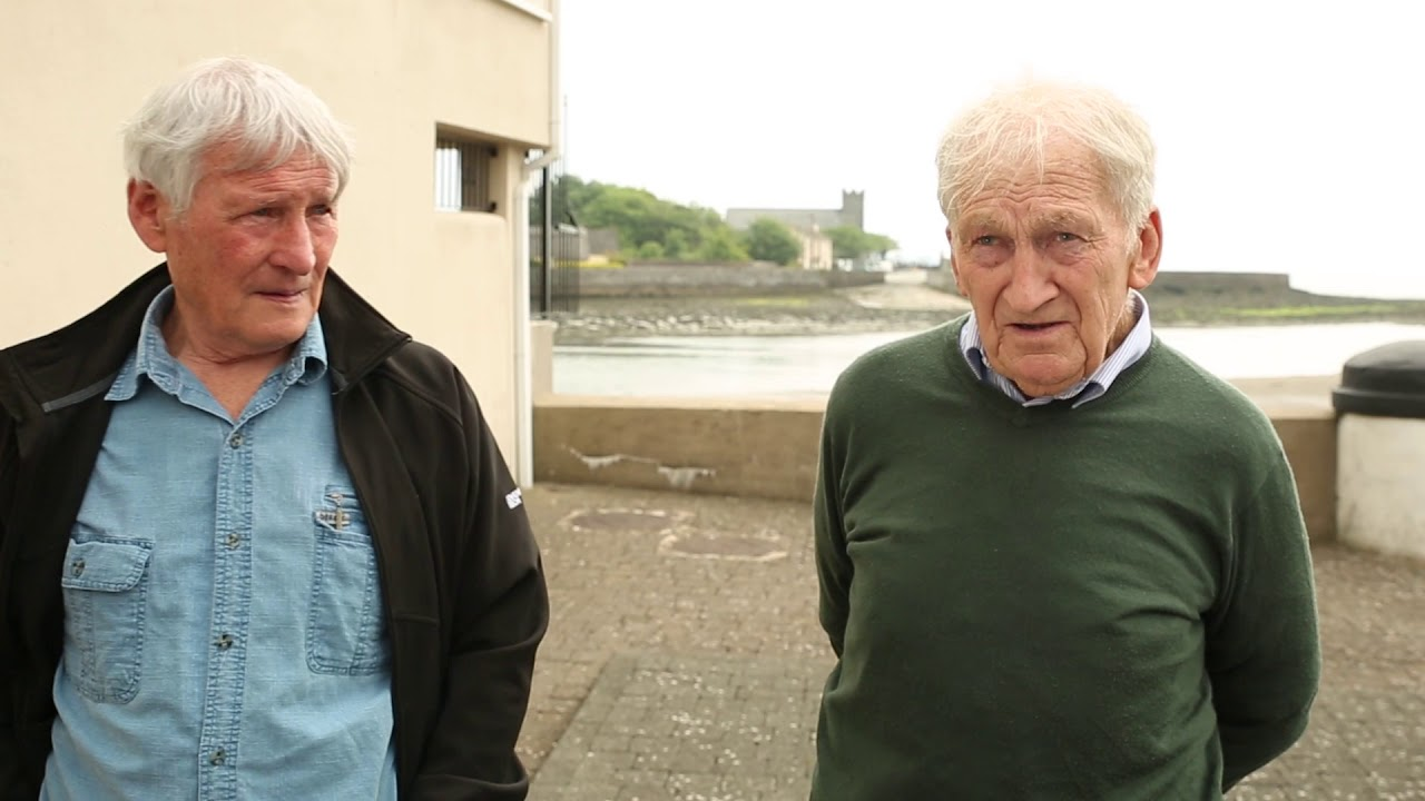 Eddie Cantwell & Michael Brennan interviewed for Grattan Square: A Social History of Dungarvan