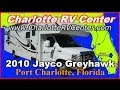 2010 Jayco Greyhawk 31SS Used Class C Motorhome FOR SALE; Stock# 1112