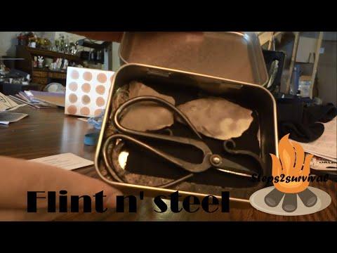 Flint and steel kit