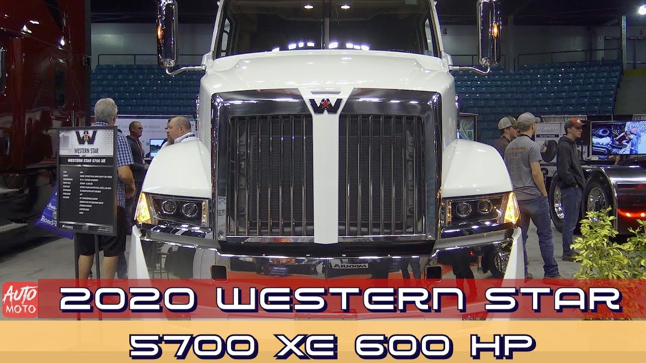 2020 Western Star 5700XE 600HP - Exterior And Interior - 2019 Atlantic Truck Show
