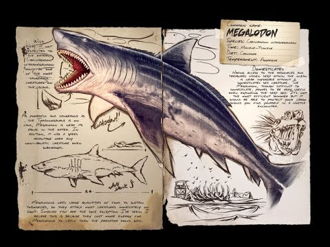 ARK PS4: How to Tame a MEGALODON (Shark) & Make the SADDLE!