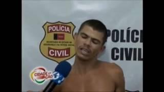 Anacleto Reinaldo fala sobre o desarmamento e ameaça bandido ao vivo.