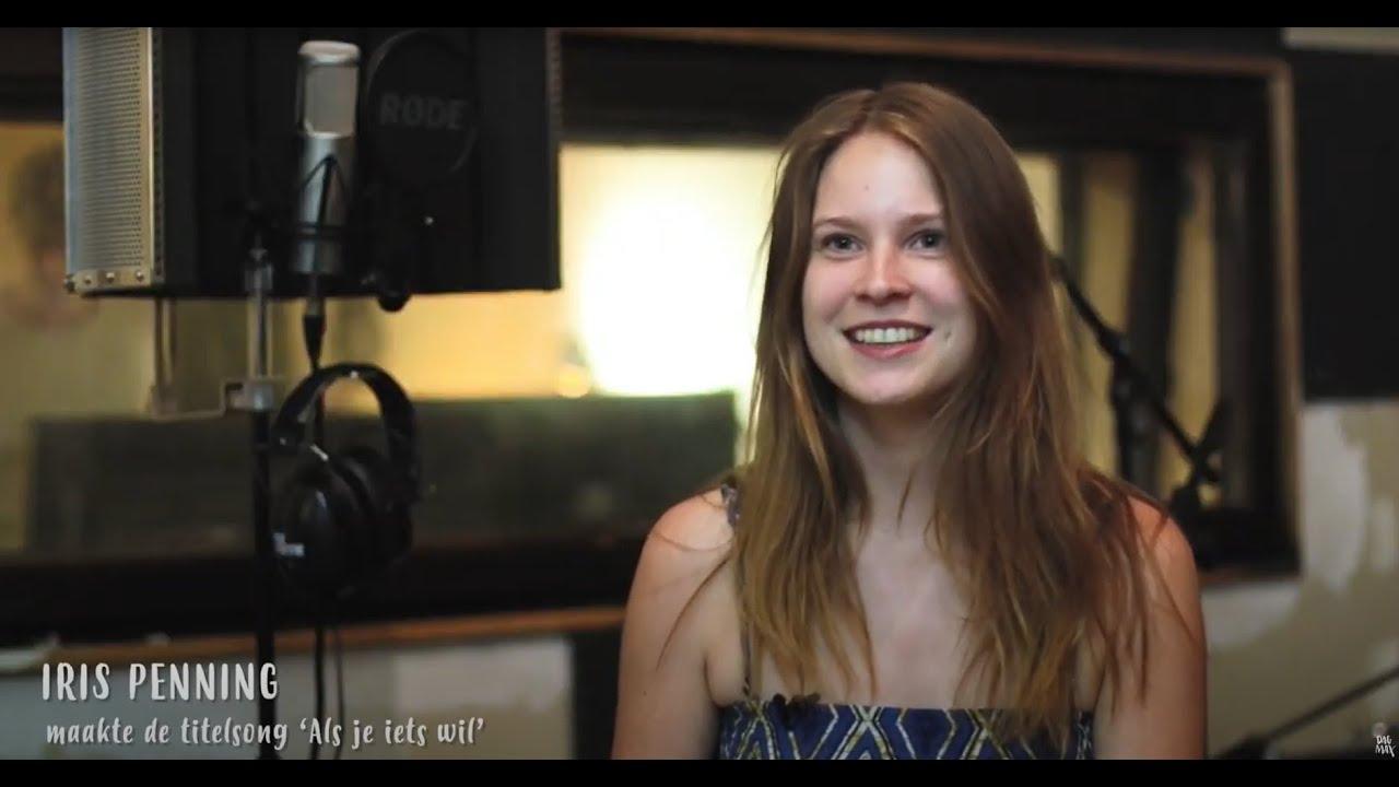 Achter de schermen: Iris Penning in de studio (2017)