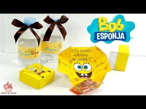 Haz La Invitación Original Para Tu Fiesta De Bob Esponja