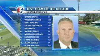 Sky Sports  ..Cricket   TEST Team of the Decade