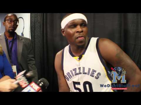 Zach Randolph Interview