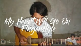 my heart will go One Fingerstyle