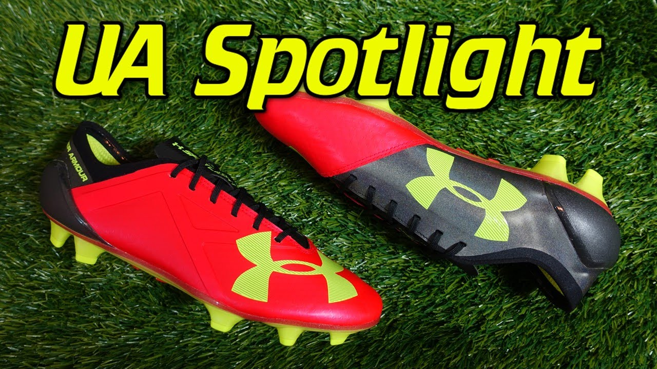 5487de7e8249 Under Armour Spotlight Rocket Red - Review + On Feet - YouTube